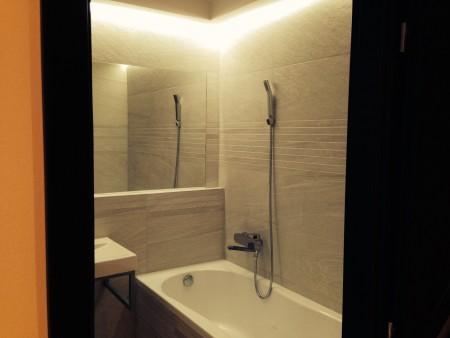 Skryté osvětlení v koupelně