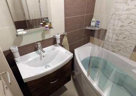 Koupelna byt Jažlovická Praha