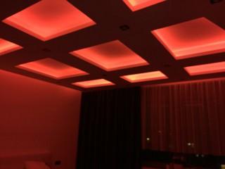Osvětlení stropu ovládané přes WIFI